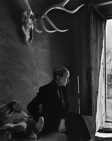 Georgia O'Keeffe, Albuquerque, 1956