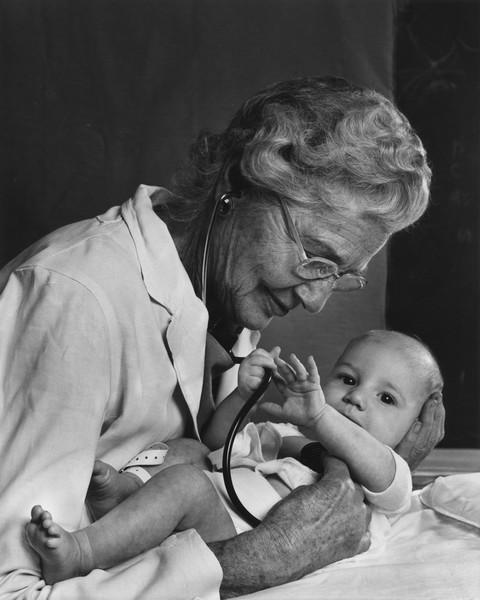 Dr Helen Taussig, 1956