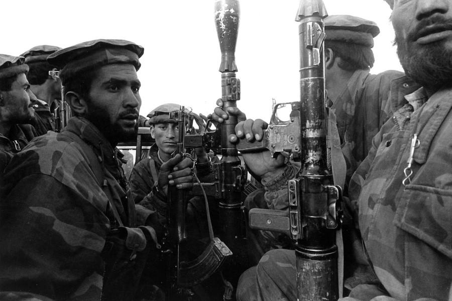 Tora Bora, Afghanistan, Dec 2001