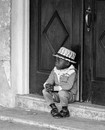 Boy on the Stoop, The Bahamas, 1971