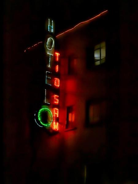 Hotel Tio Sam, Mexico City 2012