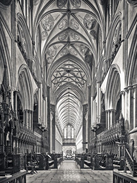 Salisbury, Quire and Nave