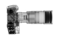 Nikon F3 with motor drive