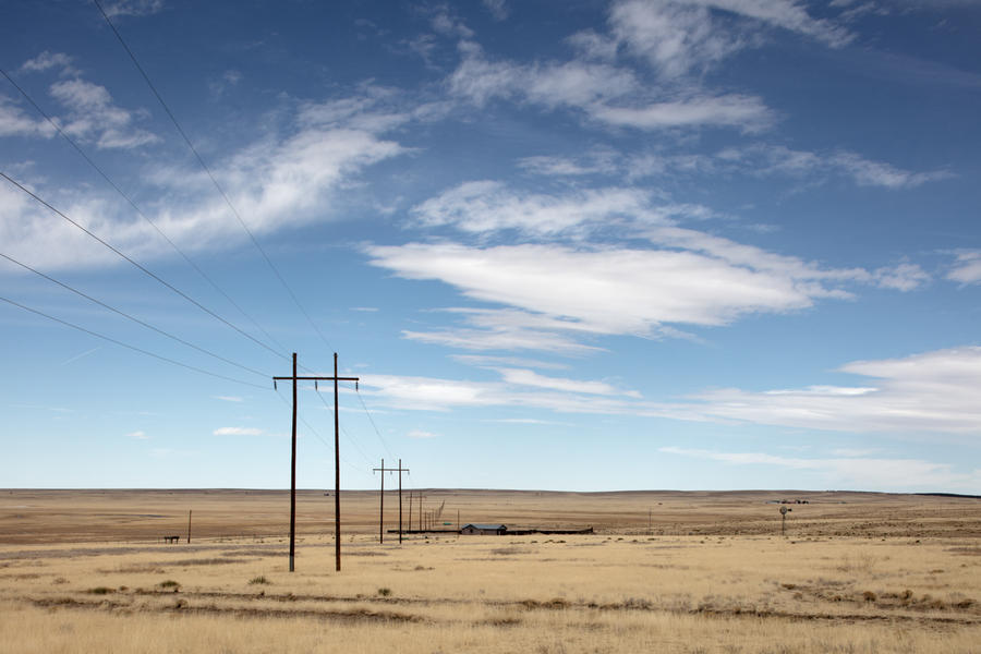 Electric Power Lines and Farm Structures, Wagon Mo