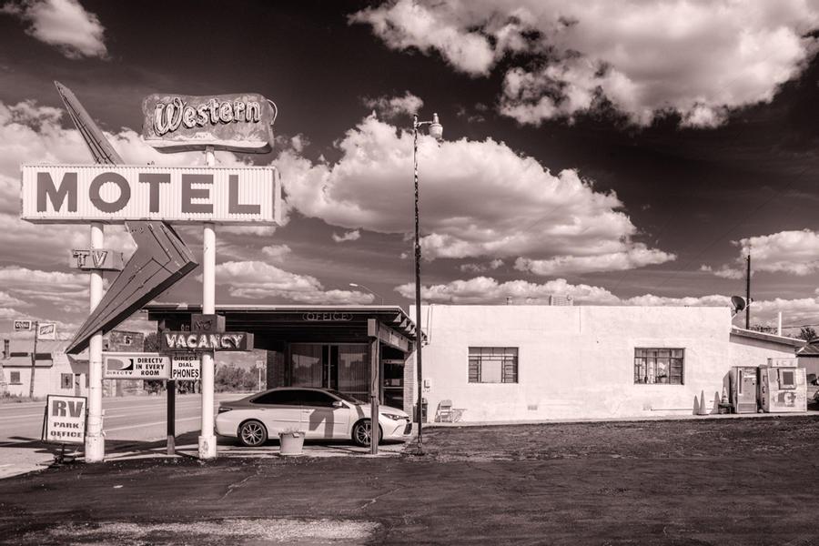 Western Motel, Encino, New Mexico, 2018