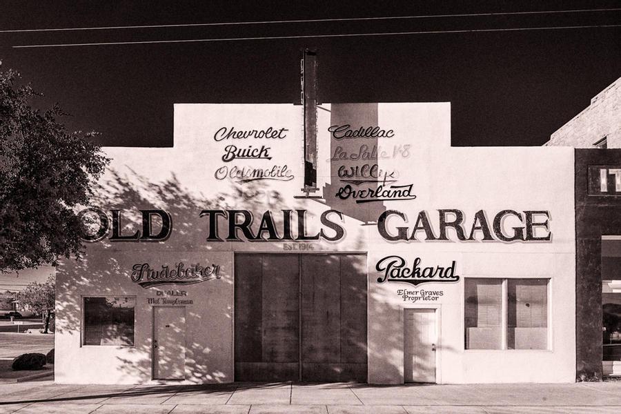 Old Trails Garage, Kingman, Arizona, 2020