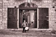 Drummer Boy, Bethlehem, Palestine, 2009