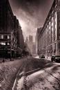New York City Street After Snow Storm, 2010