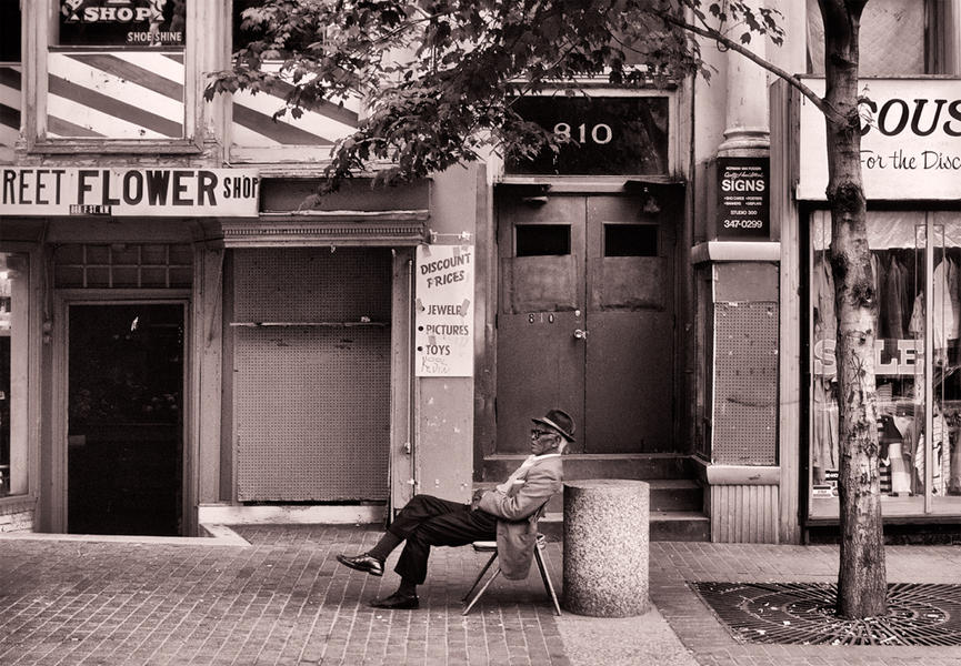 Main on Chair, Gallery Place, Washington, DC, 1986