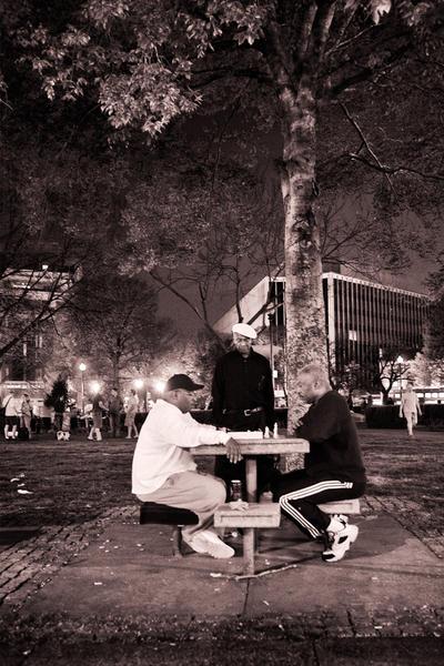 Chess Players, DuPont Circle, Washington, DC, 2007
