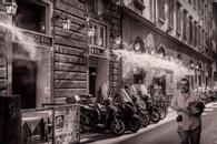 Pizzeria, Florence, Italy, 2018