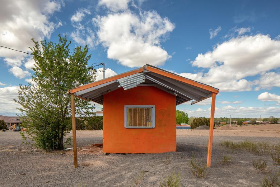 Coffee Kiosk, Santa Fe, New Mexico, May 3, 2018