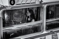 Woman on Water Bus, July 13, 2018