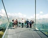 Tourists. Tyrol, August 2012
