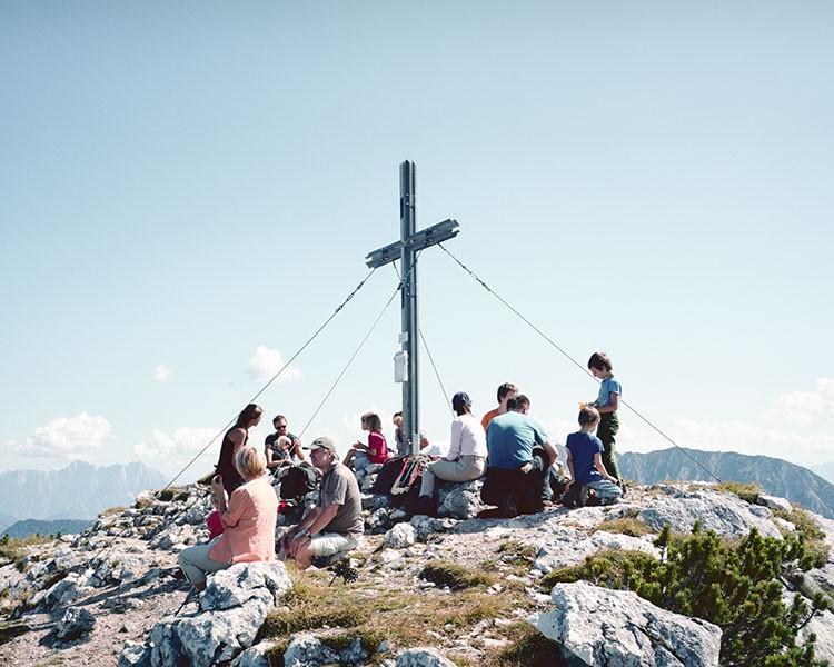 Summit. Stubwieswipfel, September 2011