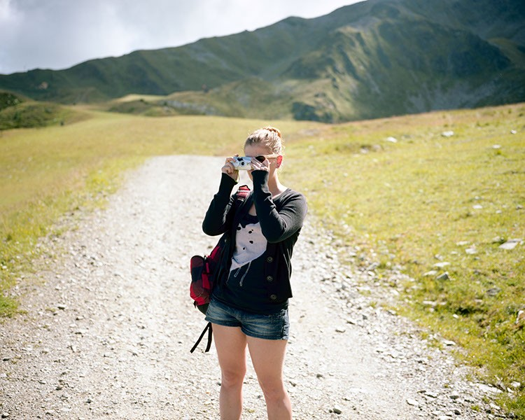 Lena. Tyrol, August 2012