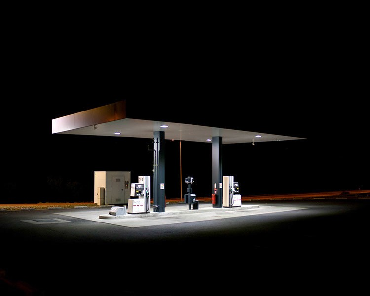 Gas Station. Schärding, April 2011