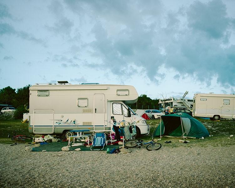 Camping. Krk, August 2014