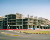 Construction zone. Koper, July 2015