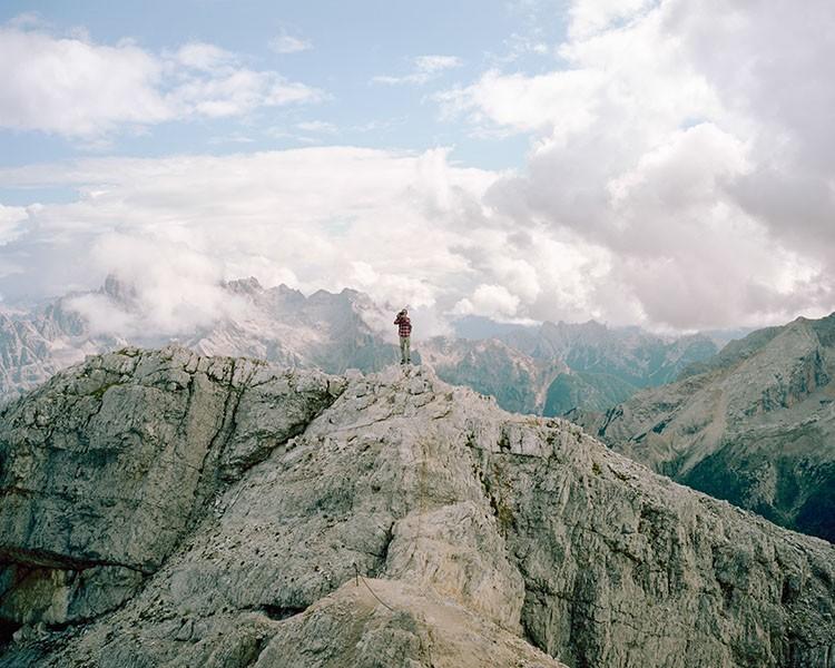 Dürrenstein 2839m. Dolomites, August 2015