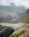 Dam. Grossglockner High Alpine Road, August 2015
