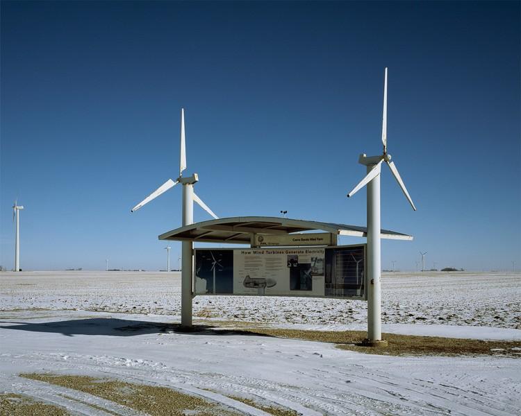 Information Kiosk, Cerro Gordo Wind Farm, Iowa