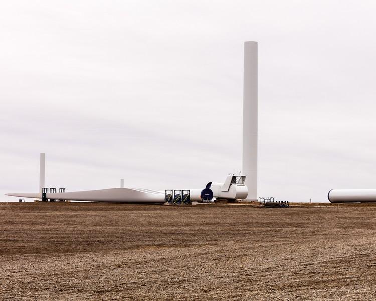 Turbines Waiting for Assembly, Kansas