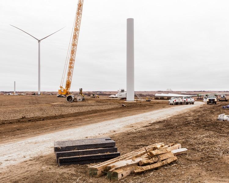 Turbines Under Construction, Marshall County