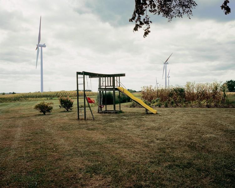 Backyard Swing Set, Glacier Hills Wind Farm