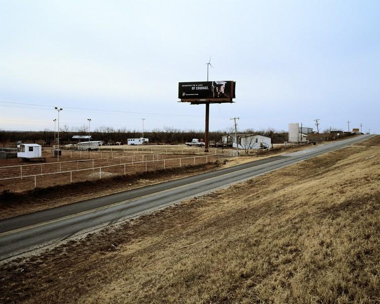 USMC Billboard, U.S. Route 20, Sweetwater Texas