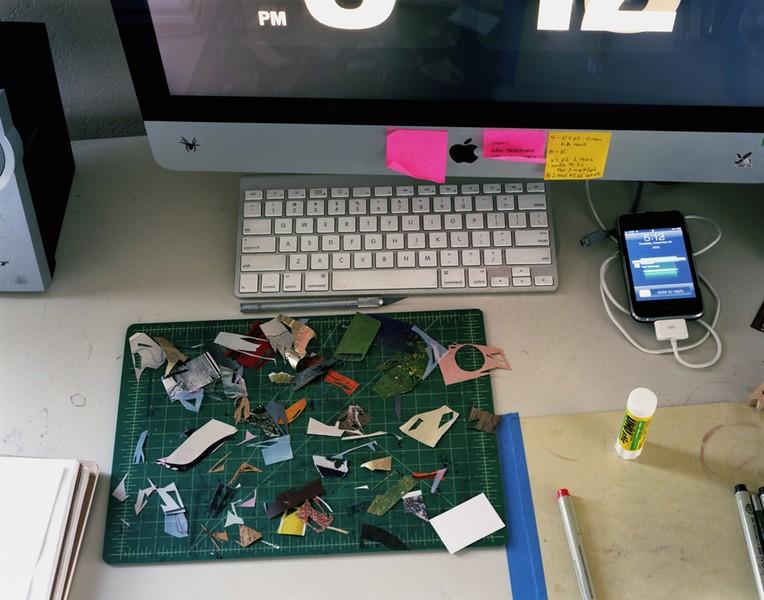 Desk (with Scraps)