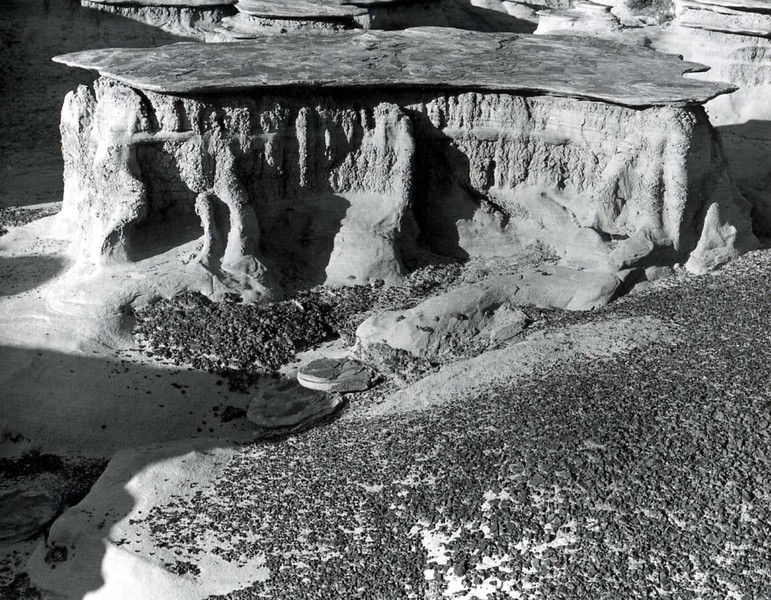 Bisti, New Mexico, 1986, Gelatin Silver Print