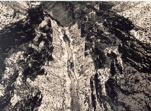 Rio Grande Gorge,1978, Gelatin Silver Print