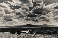 Clouds and Padernal, 1991, Gelatin Silver Print