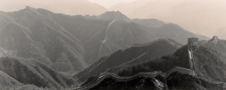 The Great Wall, China, 1999, Gelatin Silver Print