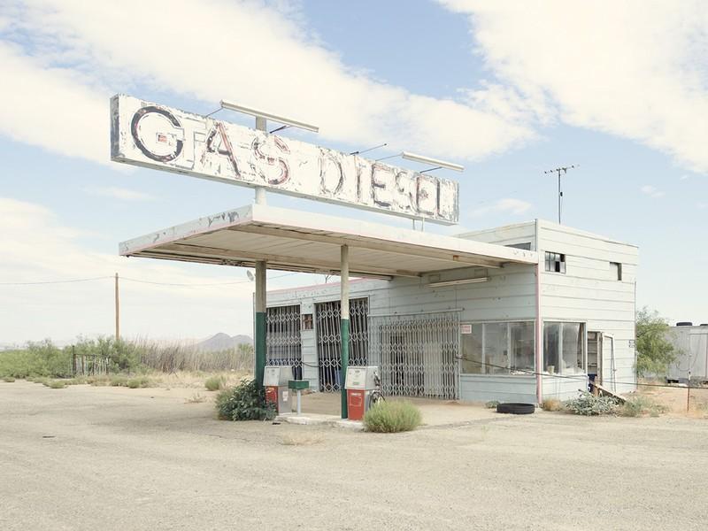 Interstate 10 Business, Bowie, Arizona