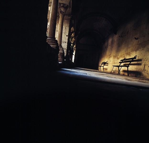 Corridor, St.paul asylum (Van Gogh)