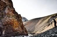 Photographer, Innra-Hvannagil Gorge