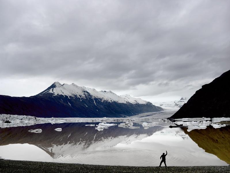 Disturbing stillness,Heinabergsjökull