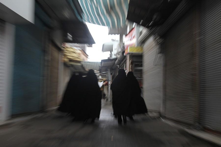 Women in Bazar