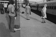 Waiting for train, 1981
