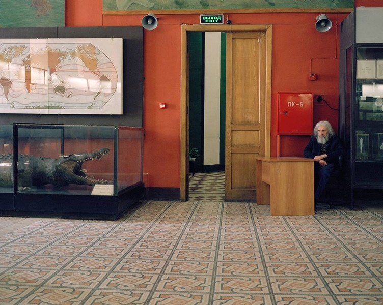 The Guard. Zoological Museum of Moscow University