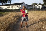 Naomi and her son. Cape Town, ZA