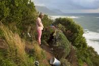 Tsitso at the Encampment. Cape Town, ZA