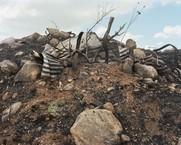 Debris, IDF Firing Zone, Gamla, Israel