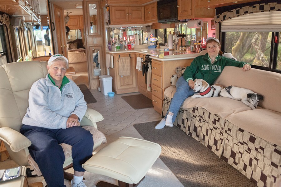 MaryAnn & Debra. Nehalem Bay State Park, OR