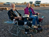 Ed and Carol, Full-timers. Quartzsite, AZ