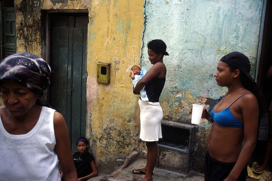Mom & Baby, Brazil series, Salvador, Bahia, Brazil