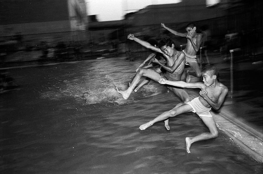 Pool Jump, Bronx Boys series,  The Bronx