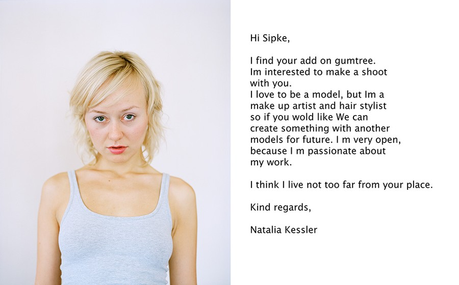 Natalia, from the Gumtree series
